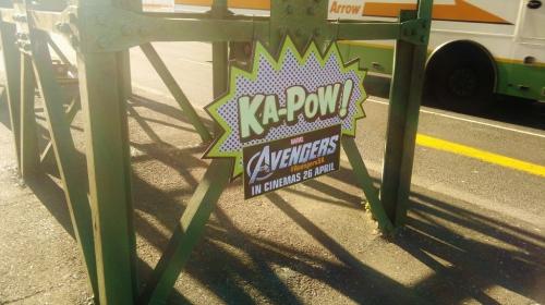The Avengers - Kapow