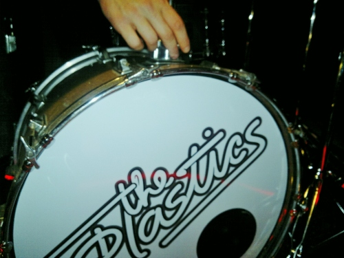 The Plastics drums