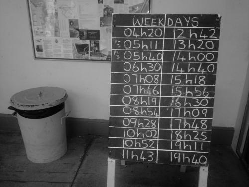 simonstown train timetable
