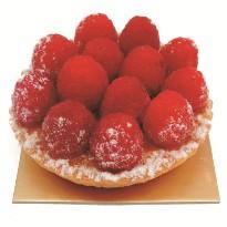 Cassis Raspberry Tart