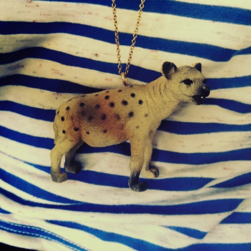 DIY Necklace - Hyena