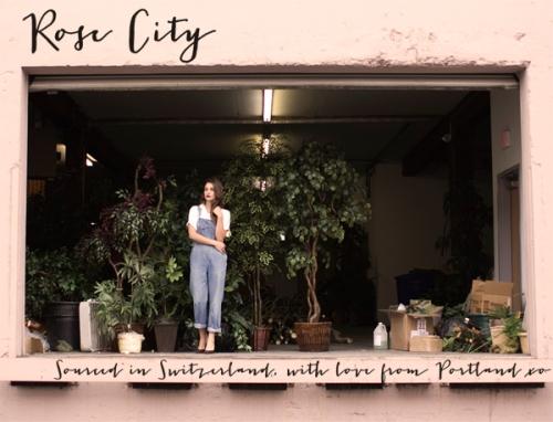 Rose City lookbook on Yo! Vintage