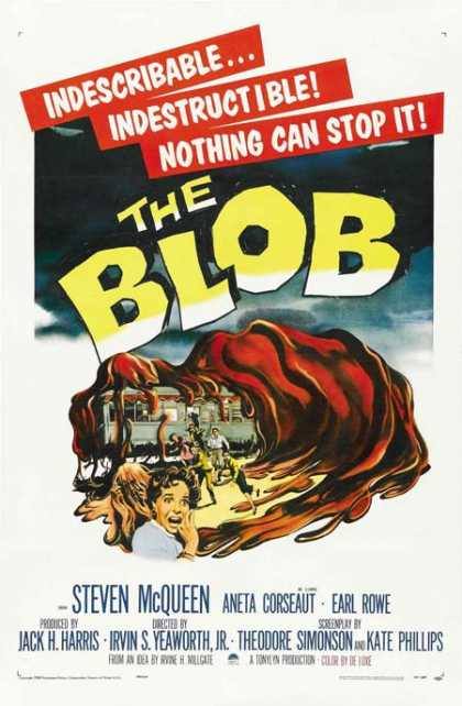 Old movie posters - The Blob
