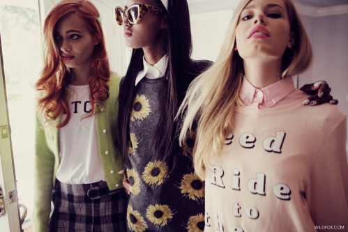 The Kids in America, SS 13 - Wildfox does Clueless