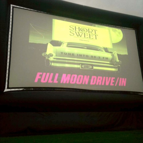 Short and Sweet makeshift drive-in - 100 in 1 day Cape Town