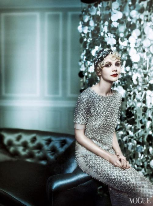 Carrey Muligan - The Great Gatsby in US Vogue
