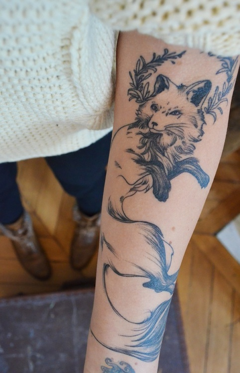 Fox Tattoo 4