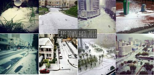 Cape Town Hail 2013