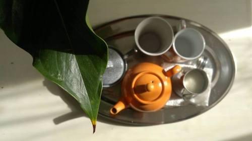 Pot of tea on a Saturday