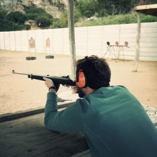 False Bay shooting range - .22 automatic rifle