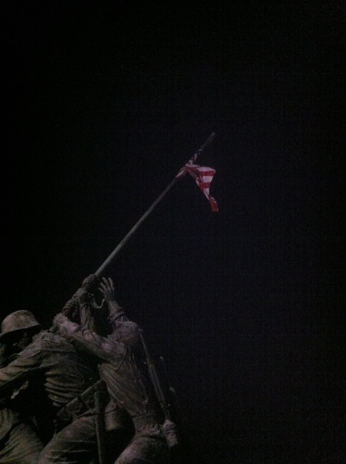 Iwo Jima Memorial, Washington DC.