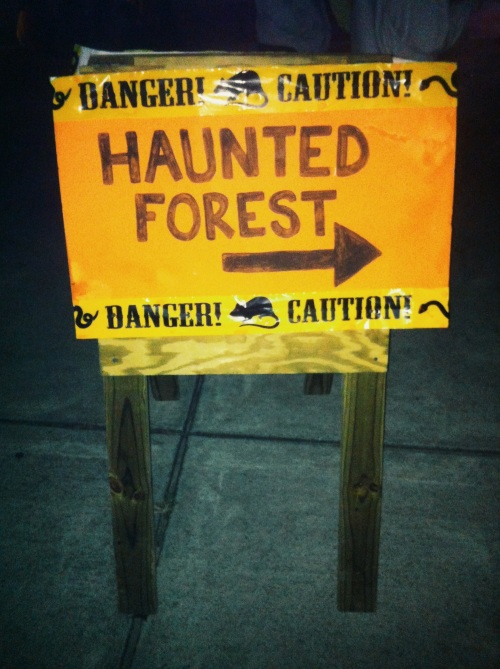 The Haunted Forest - Algonkian Regional Park 2013.