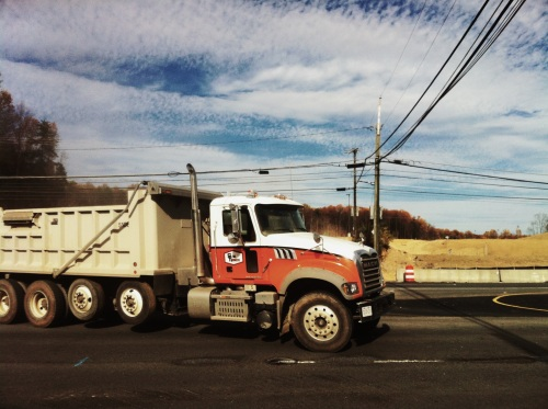 American truck, Northern Virginia.