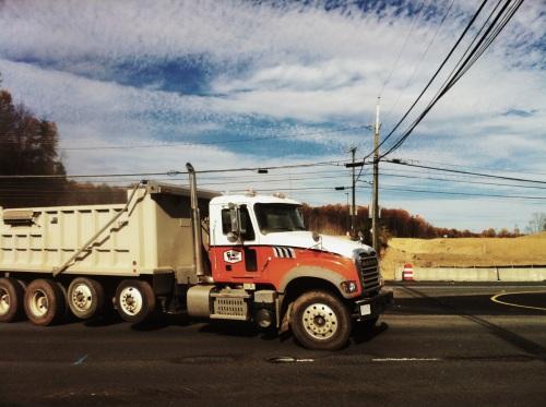 American truck, Northern Virginia.
