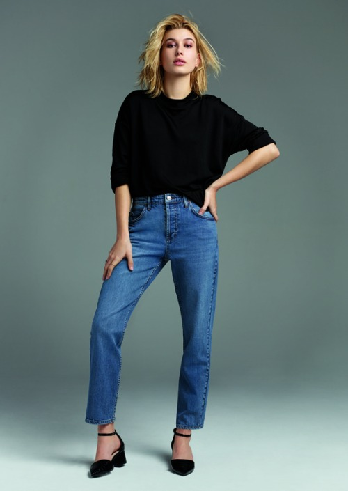 Hailey Baldwin for Topshop Denim